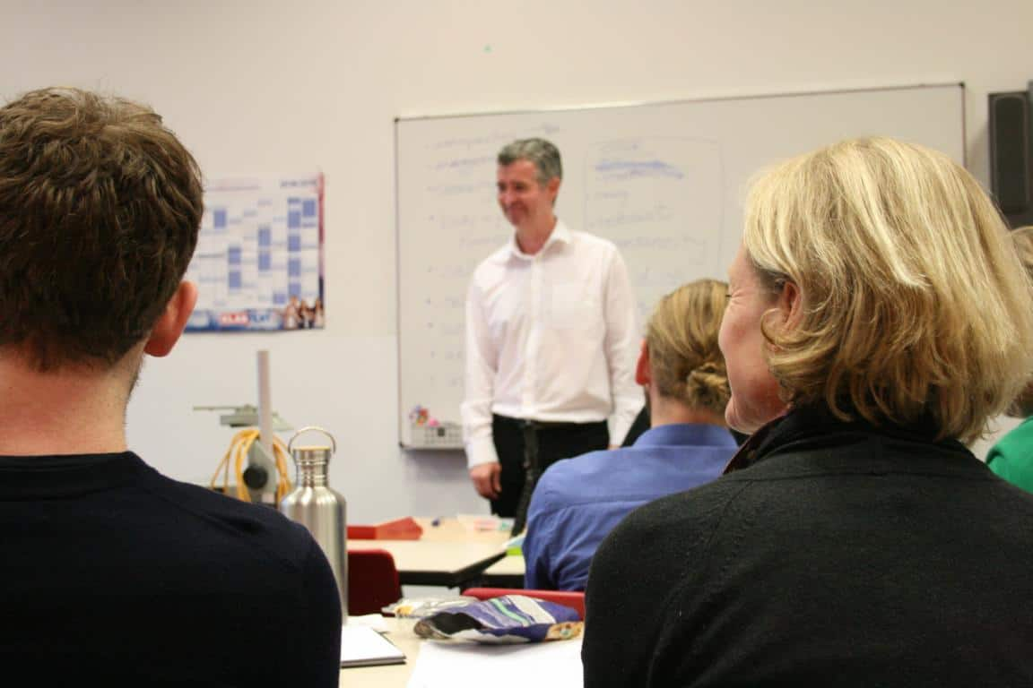 See impressions of our comedy workshop in Bamberg