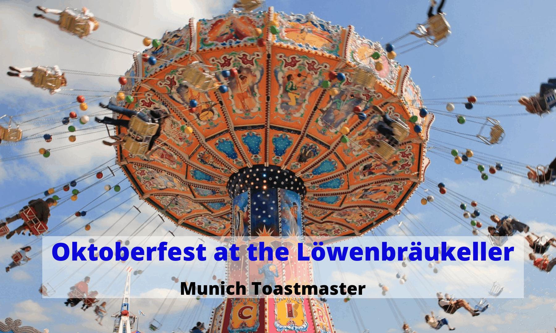 Special pre-Oktoberfest – Munich Toastmasters