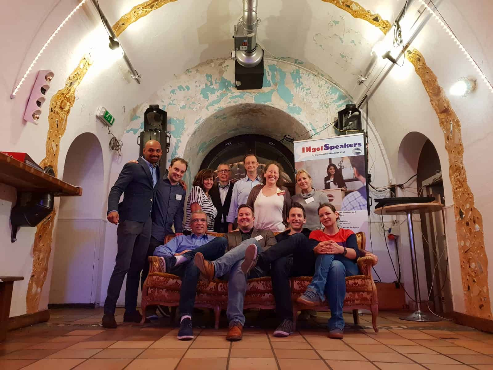 INgolSpeakers – neuer Toastmasterclub in Ingolstadt