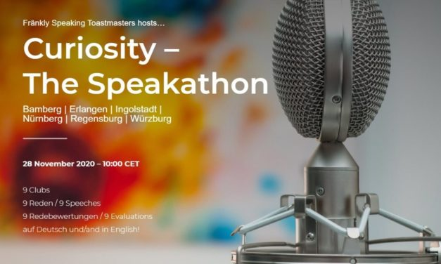Curiosity – The Speakathon