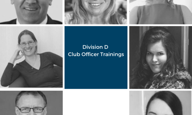 Division D Club Officer Trainings Winter 2020/21